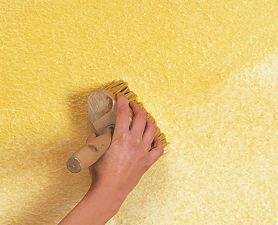 Виды декоративной штукатурки для стен своими руками