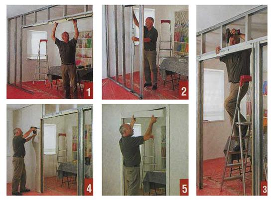 Как сделать межкомнатную дверь раздвижную