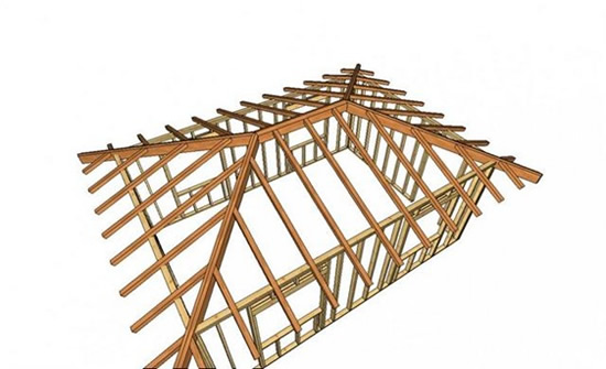 Как сделать крышу вальмовые